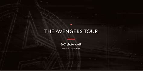 avengers photo booth layout the avengers tour 360 176 photo booth on behance