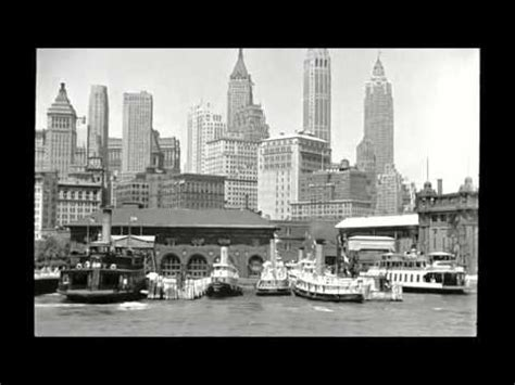 boat ride manhattan 1930s boat ride across lower manhattan waterfront youtube