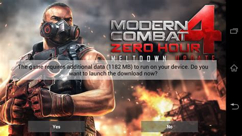 mc4 free apk modern combat 4 zero hour available free for xperia z owners this weekend only xperia