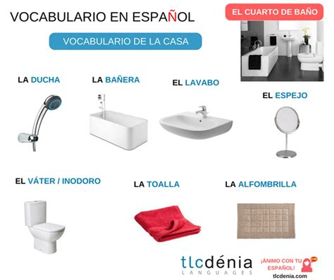 bathroom vocabulary spanish vocabulary of the house the parts of the house and the