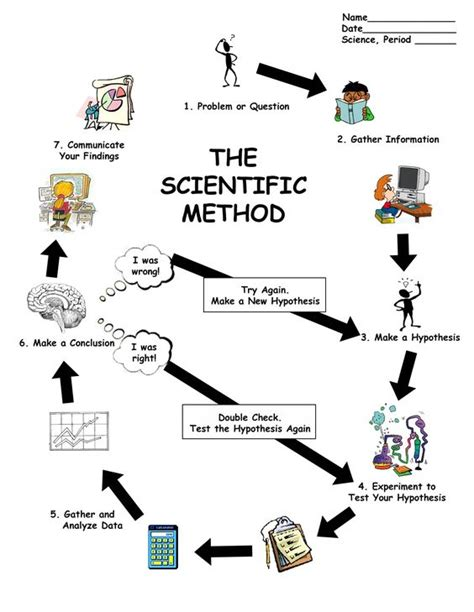 Can You Spot The Scientific Method Worksheet Answers by Can You Spot The Scientific Method Answer Key