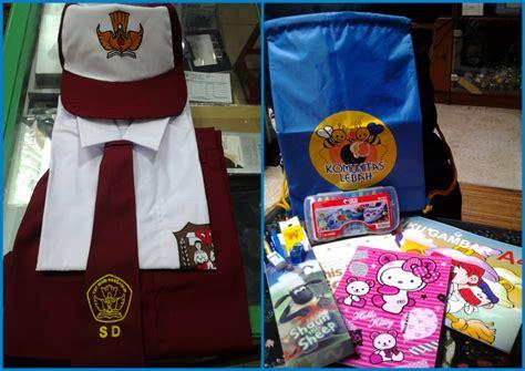 Paket Atas Nama paket seragam tas sekolah komunitas lebah
