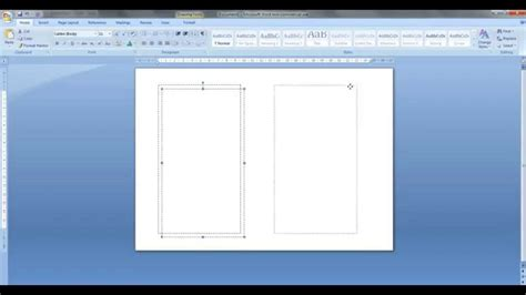 how to make a template in word how to create personal size templates for filofax etc in