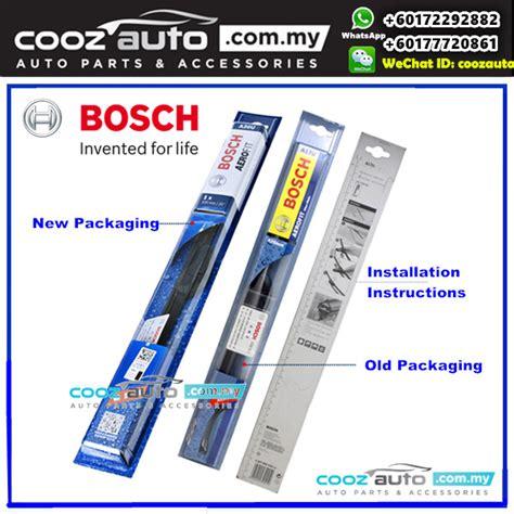 Wiper Bosch Aerotwin Frameless Ukuran 20 hyundai atos 1999 bosch aerofit frameless flat blade wiper 2pcs set