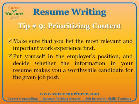Professional Resume Writing In Mumbai