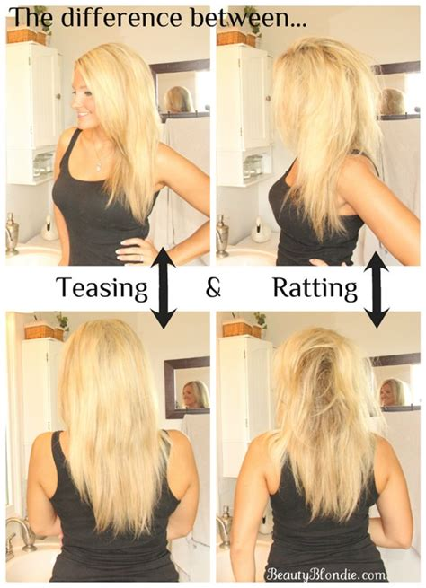 how to properly tease your hair makeupcom how to properly tease your hair makeupcom tease pictures