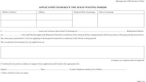 section 4 annulment application the registration of marriages regulations 2015