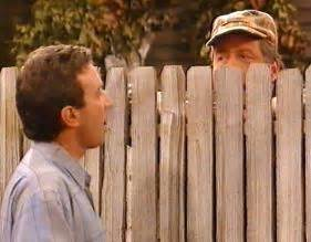Who Played Wilson In Home Improvement by Neighbors Make Fences