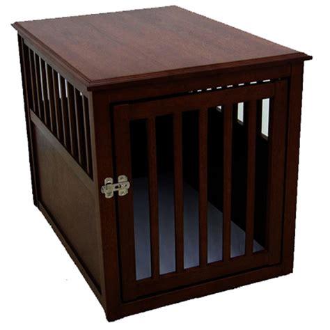 designer crates large espresso designer pet crate