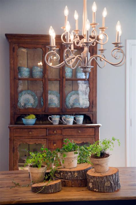 Fixer Dining Room Centerpieces Fixer An Updated Farmhouse For A Growing Family