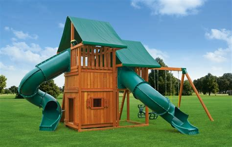 swing set slides for sale multi deck sky 5 wooden swing sets for sale eastern