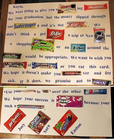 25 best ideas about candy letters on pinterest
