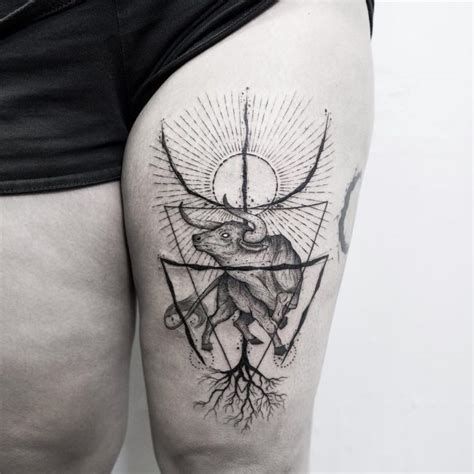 70 astrological taurus tattoo designs strong willed