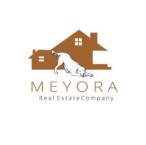 puppy realty 20 attractive real estate logo design templates to brand your business
