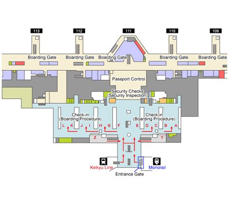 international airport floor plan trains and monorails haneda airport international terminal