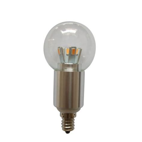 4w e12 candelabra base bulb led household light bulbs