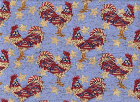Patriotic Quilt Fabric patriotic roosters quilting fabric at lura s fabric shop