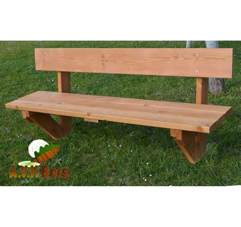 banc de picnic en bois banc en bois douglas satur 233 avh bois