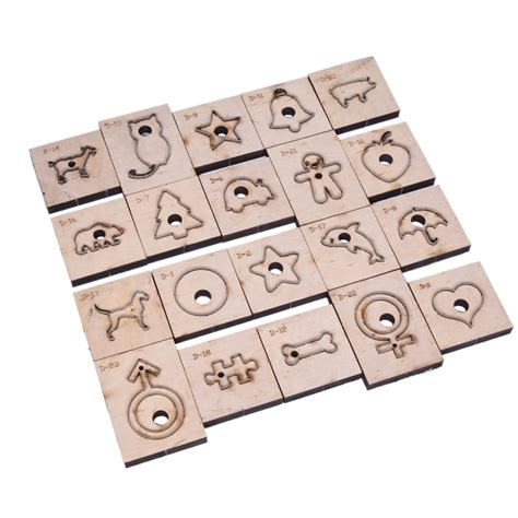 Diy Leather Craft Clicker Die Punch Cutting Animals Geometric Template Tool Ebay Leather Cutting Templates