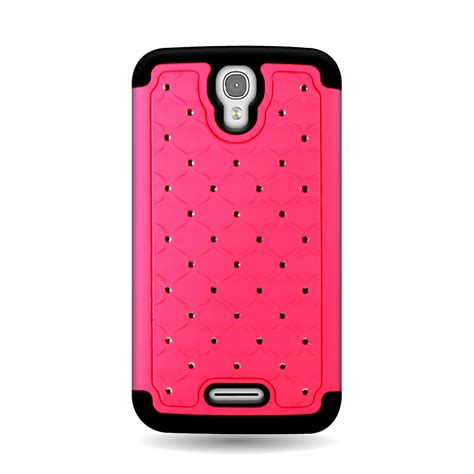 alcatel phone cases for alcatel one touch pixi charm bling hybrid