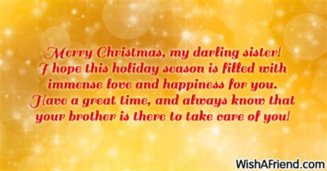 christmas messages  sister page