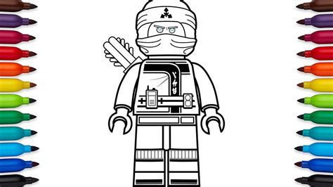 ninjago mech coloring pages how to draw lego ninjago zane roberts from the lego