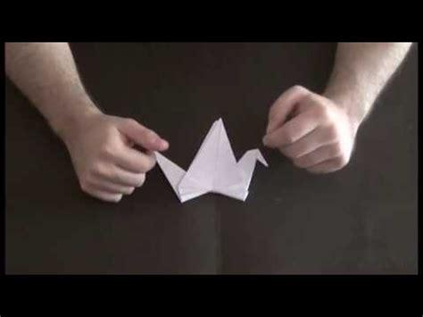 tutorial origami gru origami tutorial 1 gru che vola crane youtube