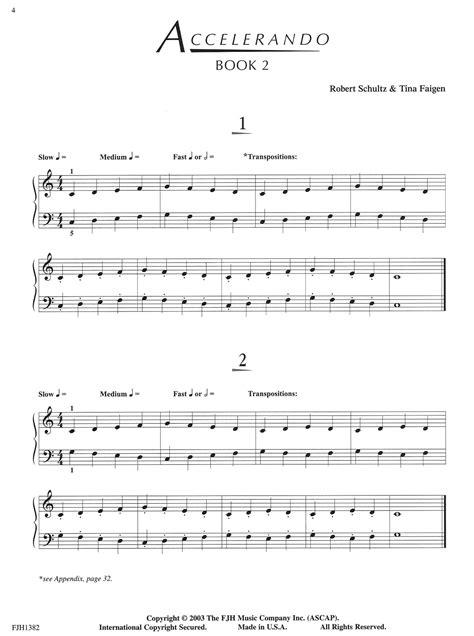 Accelerando Complete Series   Schultz Music Publications