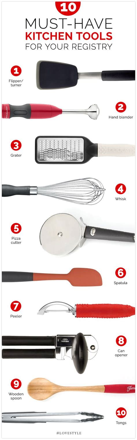 must have kitchen items list 10 must have kitchen tools for your registry weddings