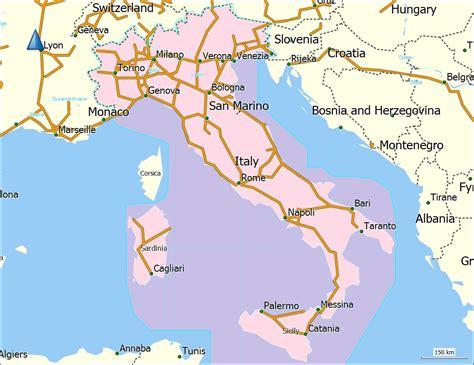 bid in italiano italien karte fl 252 sse kleve landkarte