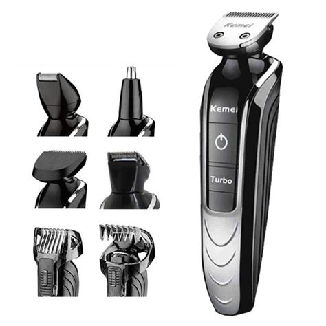 Multi Electric Saver Kemei Km 1832 5in1 Washable Electric Shaver And Multi Grooming Kit