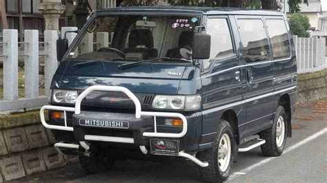 mitsubishi delica for sale mitsubishi delica star wagon diesel for sale in japan at