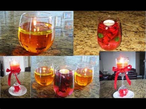 how to make decorative candles at home diy floating candles from water and oil candle