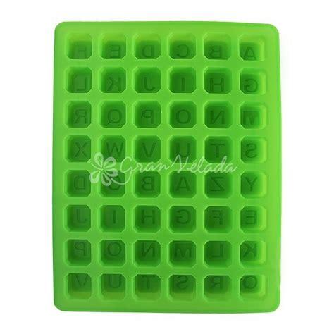 molde de silicon con letras en cuadritos moldes de silicon monterrey comprar molde de letras para jabones venta online