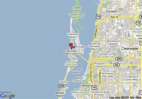 clearwater map of florida clearwater resort clearwater deals