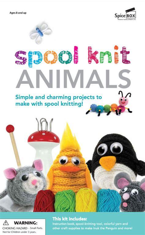 Spool Knit Animals Stuff Toys