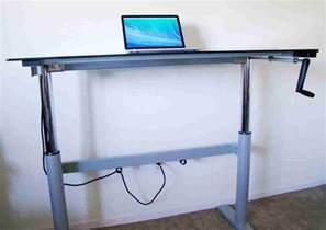 Adjustable Standing Desk Diy Diy Adjustable Standing Desk Decor Ideasdecor Ideas