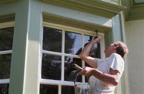 painting window sills exterior painting exterior trim