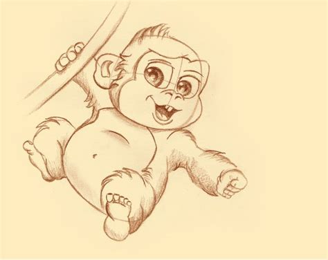 how to draw a doodle monkey 56 best images about drawings on hourglass