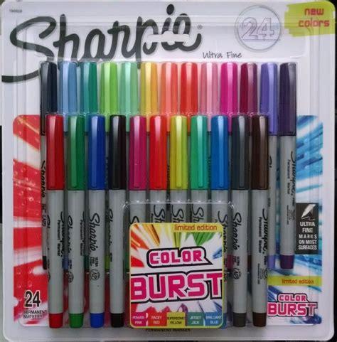 sharpie pens colors sharpie color burst permanent markers ultra point