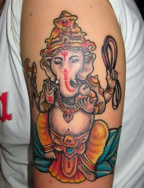 thai ganesh tattoo buddha tattoo ganesh tattoo thailand