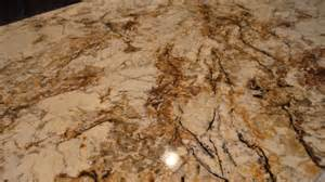 Cream background with brown rust black and quartz moving through it