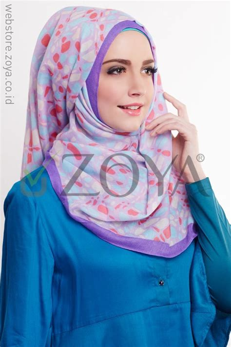 hijab tutorial kerudung zoya lebih pas untuk cantikmu kerudung zoya lebih pas untuk cantikmu muslimah hijab
