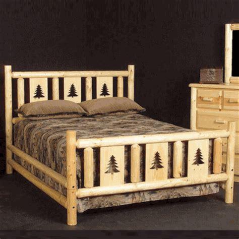 pine log bedroom furniture viking northwoods montana pine log bed