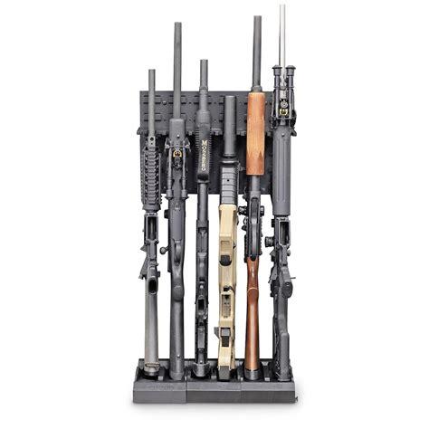 Gun Storage Rack by Secureit Tactical Guard 6 Modular Conversion Gun Storage