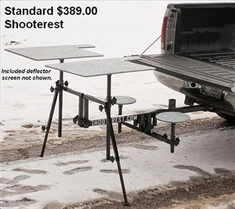 hitch mounted shooting bench new shooterest twin station hitch mounted shooting bench