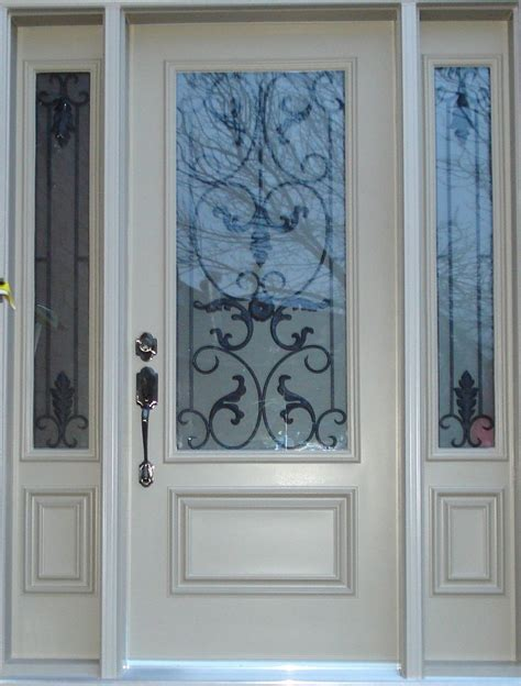 white exterior door best 25 exterior fiberglass doors ideas on