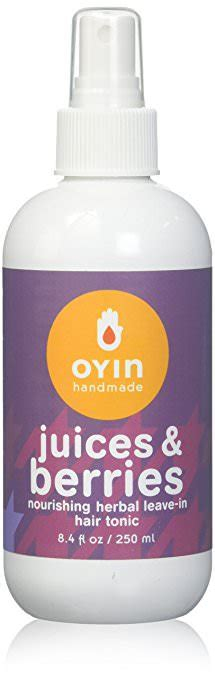 Oyin Handmade Juices And Berries - 12 mind blowing leave in conditioner for curly hair the
