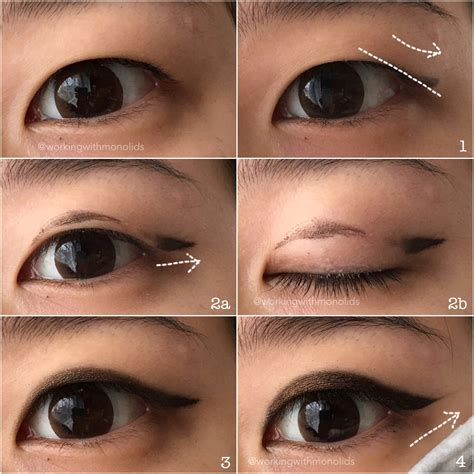 Eyeliner Tutorial Monolid | monolid make up tutorial eyeliner for hooded monolids