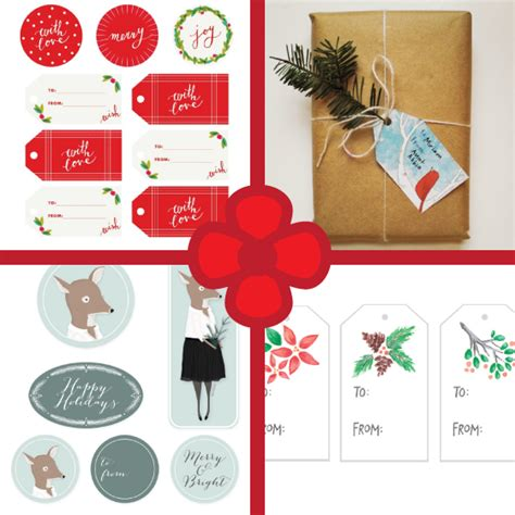 Printable Gift Tags With String | brown paper packages tied up with string and printable